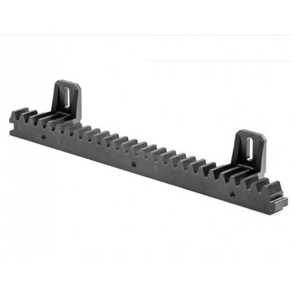 Listwa zębata poliamidowa z rdzeniem stalowym L 400 mm / 20 mm