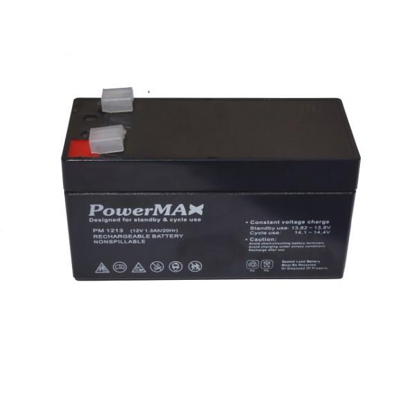 Akumulator zasilania awaryjnego 12V 1,3 Ah