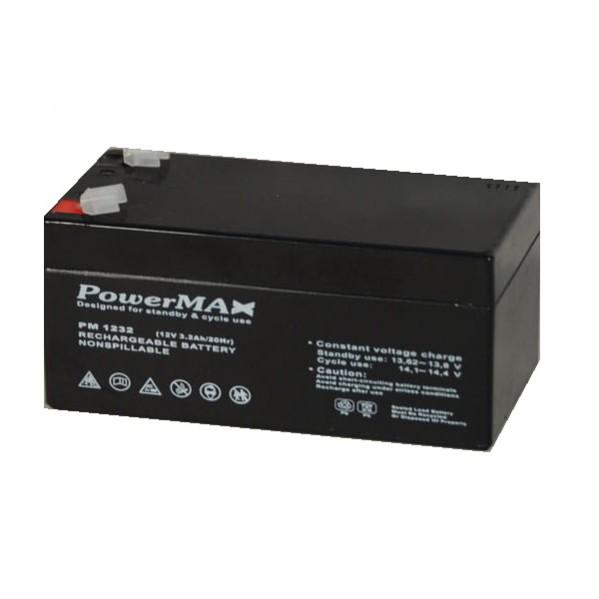 Akumulator zasilania awaryjnego 12V  3,3Ah