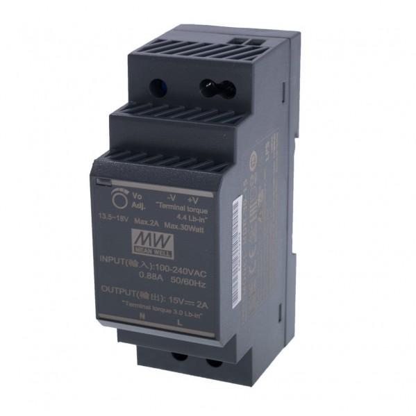Zasilacz DIN HDR_30_15  Napięcie 13,5 - 18 V