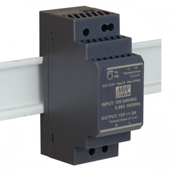 ZASILACZ  HDR-30-12  12 VDC / 2A szyna DIN