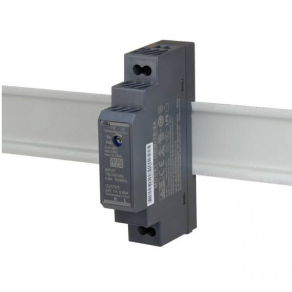 ZASILACZ  HDR-15-24   24 VDC / 0,63 A  na szynę DIN