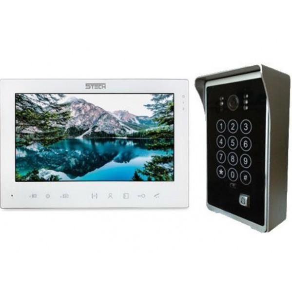 Przewodowy Videodomofon 5TECH +7 calowy panel sterujący z funkcją nagrywania i robienia zdjęć