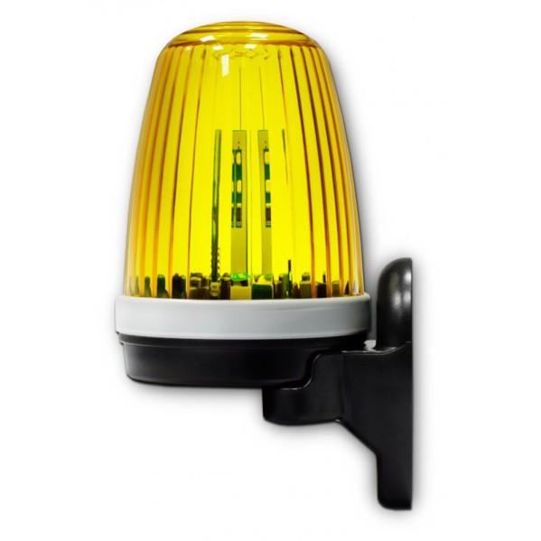 Lampa ostrzegawcza do bram LED 12/24/230 z anteną