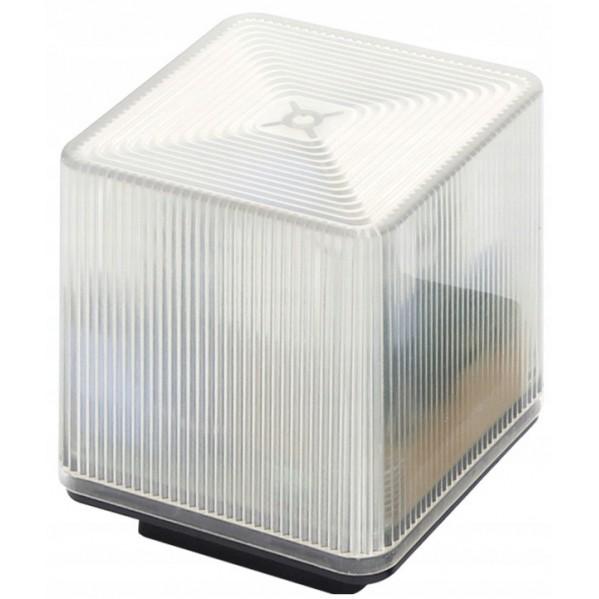 Lampa Led kwadratowa z wbudowaną anteną do napędów 24/230V